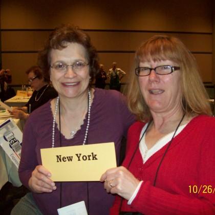 Barbara Ochampaugh & Carol Capps