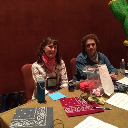 Bronwyn Ship & Barb Ochampaugh at ASPAN's 34th National Conference in San Antonio, TX