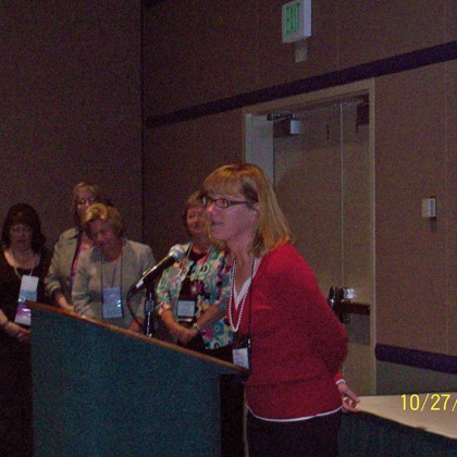 Carol Capps NYSPANA State Conference