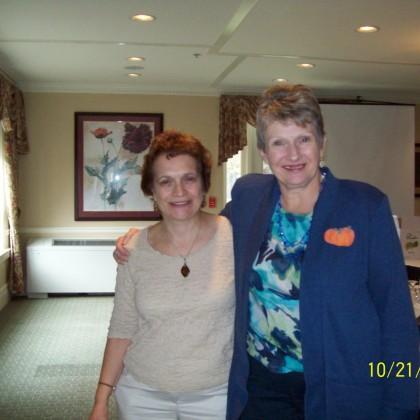 Barb Ochampaugh & Judy Sears