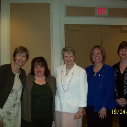 Judy Sears with Members
