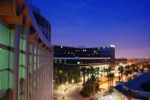 Anaheim twilight