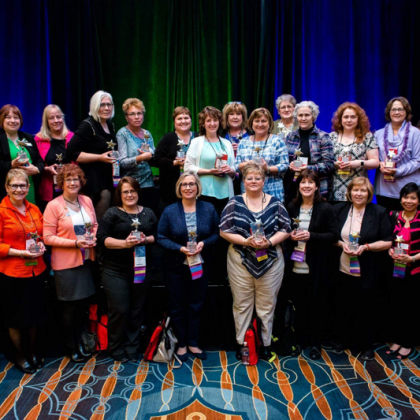 ASPAN's Conference in Philadelphia Shining Star Award Winners