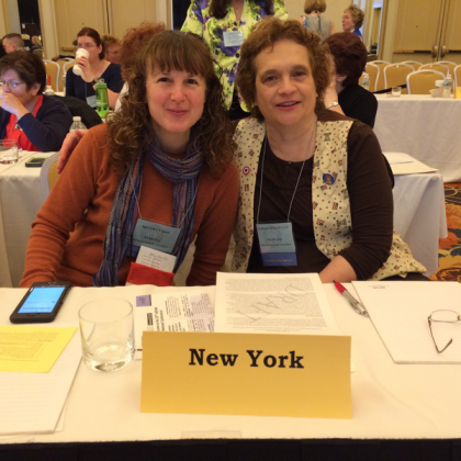 Bronwyn Ship & Barb Ochampaugh at the ASPAN National Conference in Philadelphia