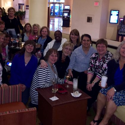 NYSPANA members gather at ASPAN's National Conference in Philadelphia