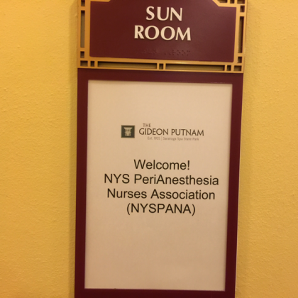 NYSPANA March 2016 Board Meeting