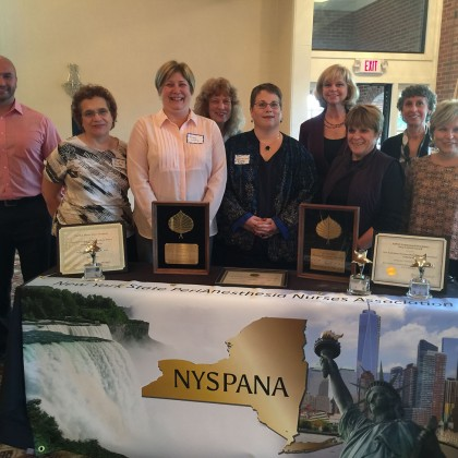Conference Planners at NYSPANA State Conference in Latham, NY on October 20-21st 201